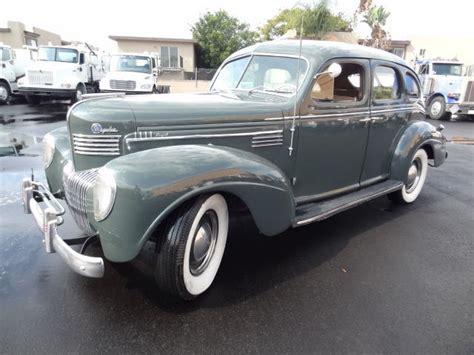 vintage chrysler 1939 chrysler royal c22 4 door sedan vintage
