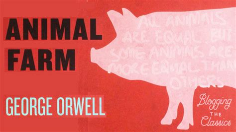biography of george orwell author of animal farm sparklife