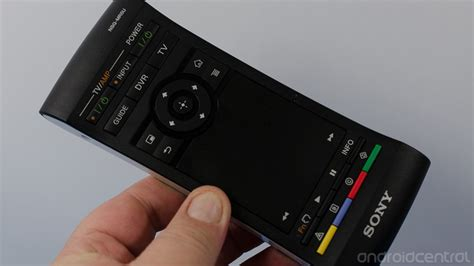 sony android tv remote sony nsz gs7 tv player review android central
