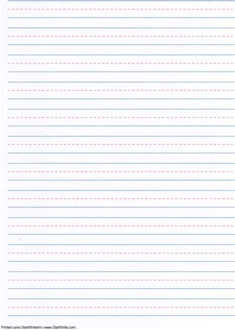 picture writing paper writing paper