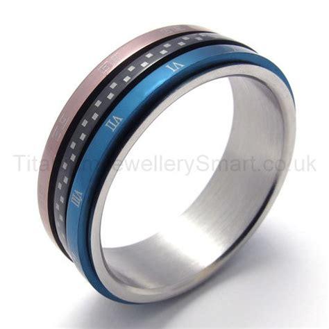 Gelang Titanium 3color three loops three colors titanium ring 20223 163 97
