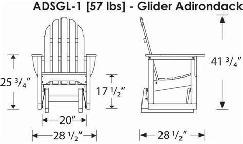 Gliding Adirondack Chair Plans by Woodwork Adirondack Bench Glider Plans Pdf Plans