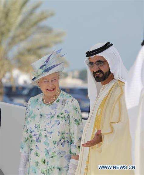 emirates queen britain s queen elizabeth ii visits uae world news