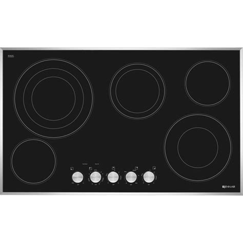 jenn air radiant cooktop jenn air jec3536bb 36 quot electric radiant cooktop