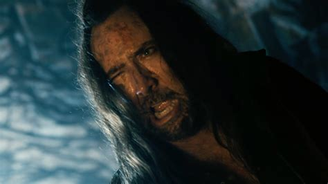 film nicolas cage outcast nicolas cage goes nicolas cage crazy in new outcast clip