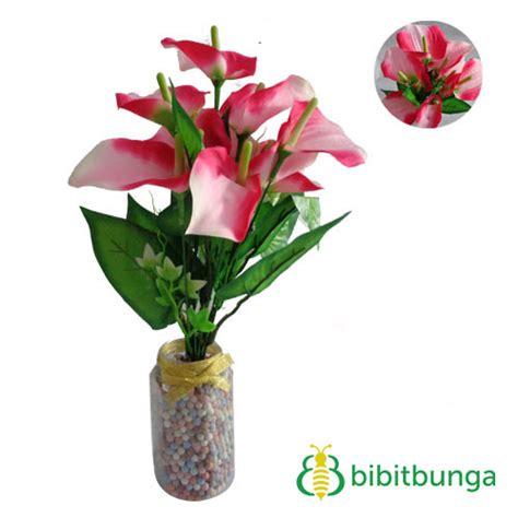 Bunga Plastik Artificial Merah bunga plastik calla doll bibitbunga