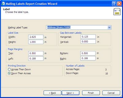 Avery Template 5160 For Word 2010 by Avery Labels 5160