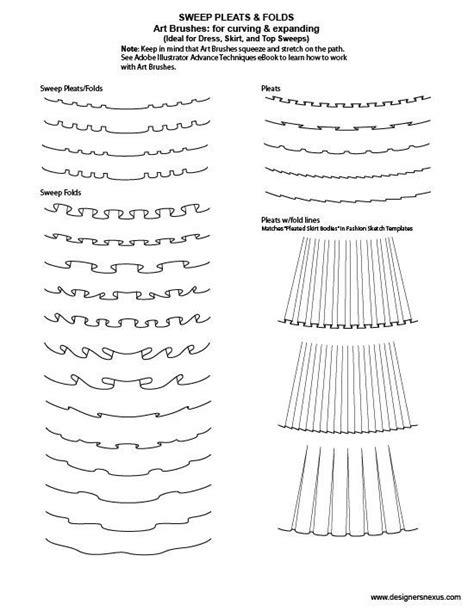 pattern drafting illustrator 14 best images about illustrator fashion brushes on