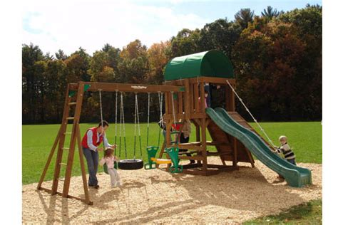 chesapeake swing set creative playthings chesapeake swing set 3 the outdoor