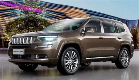 jeep compass 7 seater leaked official images of the jeep grand commander for