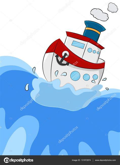 dibujo barco con olas dibujos animados mar barco y olas archivo im 225 genes