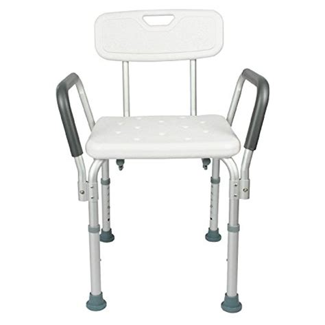 roscoe shower chair with back and handles shower chair with back by vive bathtub chair w arms for