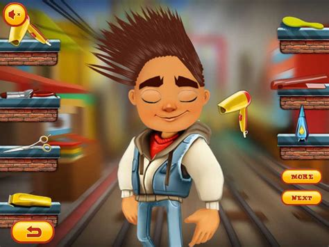 hairstyles games subway surfers app shopper subway surfers hair salon games