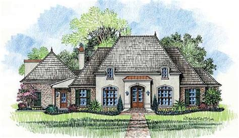 one story french country house plans french country style house plans 3001 square foot home