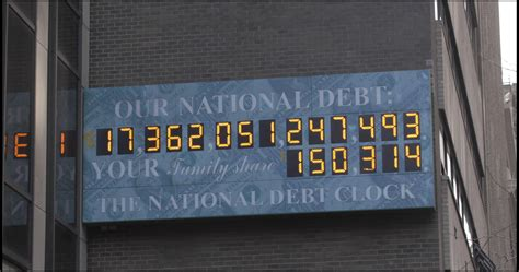 us national debt clock who in congress causes our 17 trillion debt clyde