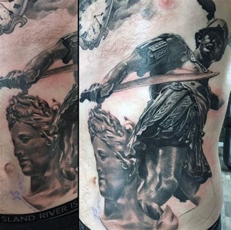 perseus tattoo 40 perseus designs for mythology ink ideas