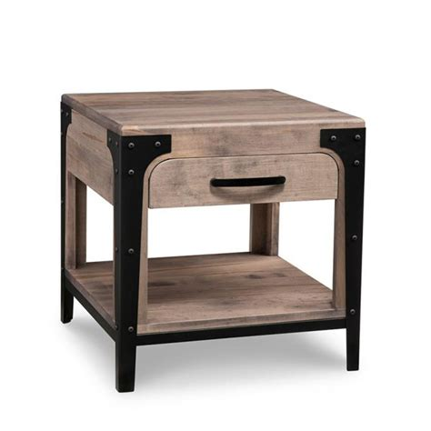 Living Room Tables Canada by Portland End Table Home Envy Furnishings Solid Wood