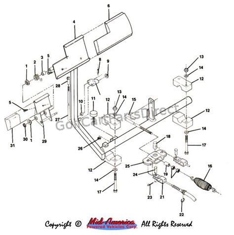 legend golf cart wiring diagram club car golf cart diagram
