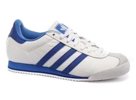 New New Adidas new adidas originals kick white blue mens trainers g44117 ebay