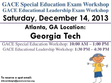Educational Leadership Doctoral Programs 1 by Atlanta Ga Gace Special Education And Educational