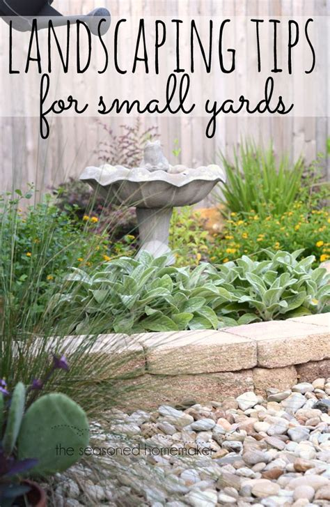 spring landscaping tips 25 best small yard landscaping ideas on pinterest small