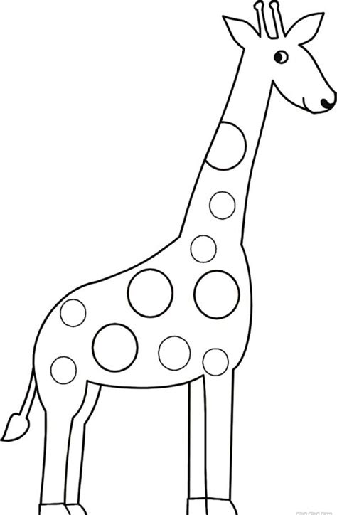 how to draw a giraffe doodle giraffe drawing clipart best