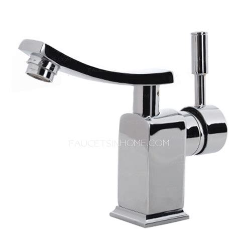 cheap designed one hole copper holder bathroom sink faucet