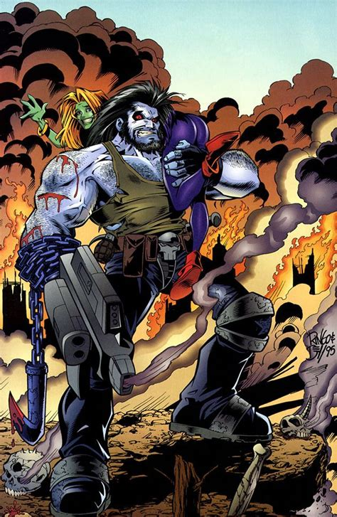 dc universe by mike b0722zp5c5 lobo by mike wieringo and john dell dc comics comic art dc universe and comics
