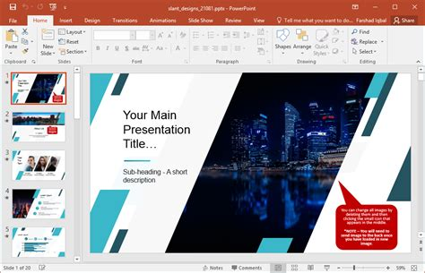 Animated Magazine Powerpoint Template Magazine Powerpoint Template