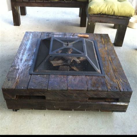 diy firepit table tempting ideas that would inspire your diy projects pallet idea