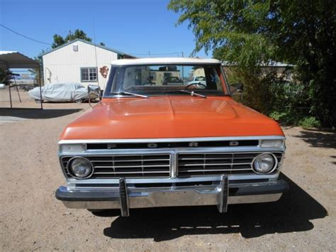 1973 Ford Truck by 1973 Ford F100 A New Mexico Truck For Sale Ford F 100