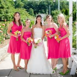pink bridesmaid dresses pink bridesmaid dresses ideal for a tropical wedding theme ipunya