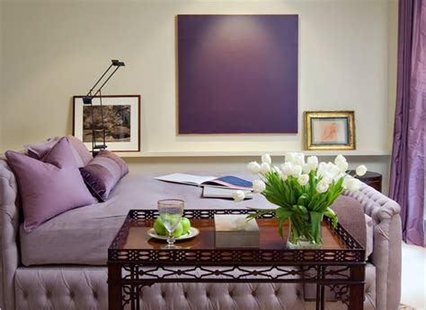 Interior Home Decorating by Purple Interior Design Ideas