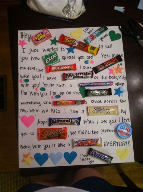 12 best chocolate bar letter images on pinterest