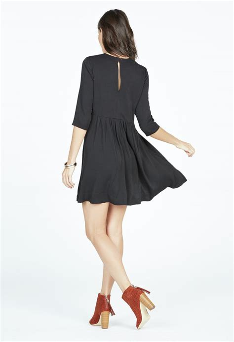 trapeze swing dress trapeze swing dress clothing in black get great deals at