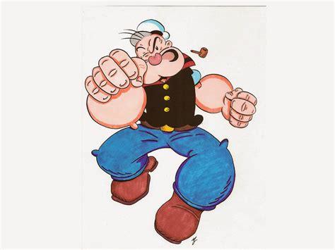 wallpaper popeye  sailor lucu  keren deloiz wallpaper