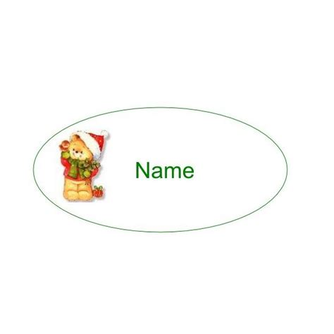 christmas design name tags christmas name tags how to design and print your own