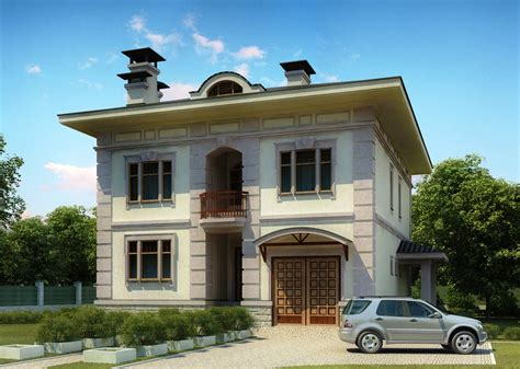 3d Front Elevation Com Europe 3d Design House Front Elevation