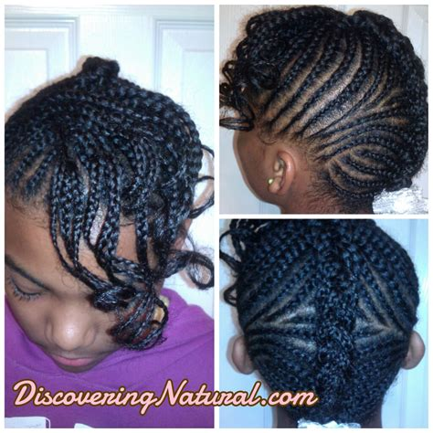 pics of cornrow braisd with bangs discoveringnatural hair styles