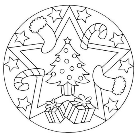 december coloring pages preschool free christmas mandala coloring page 1 december