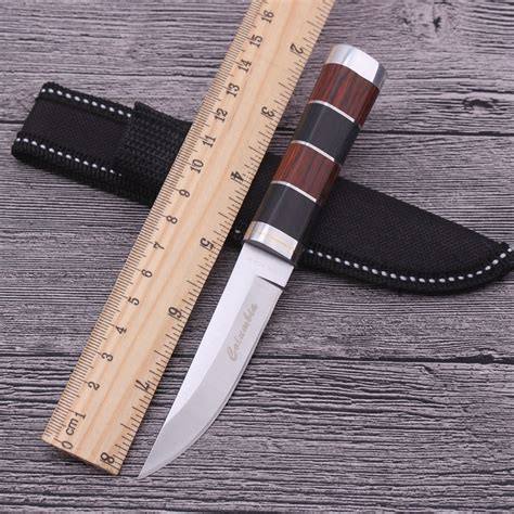 sr knifes sr k30 mini fixed blade knife 5cr13 cing survival