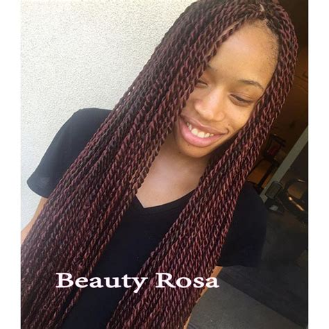 senegalese twist with brown in the front and black in the back popular synthetic thin twist wig buy cheap synthetic thin