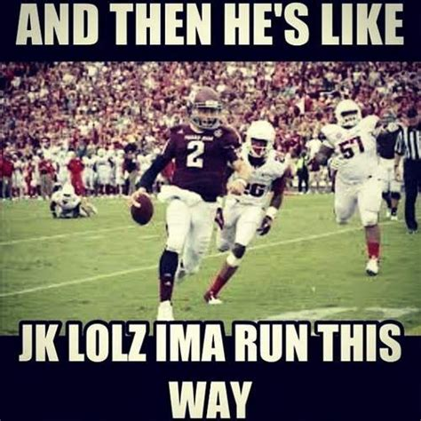 Johnny Football Meme - johnny football memes funny sports pinterest