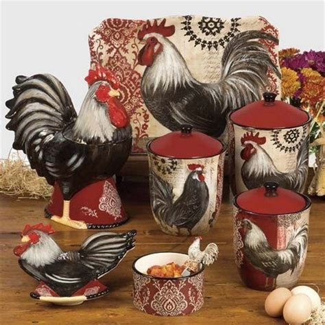 Chicken Decorating Ideas For The Kitchen Best 25 Rooster Decor Ideas On Chicken