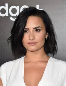 demi lovato bob hairstyles lookbook stylebistro