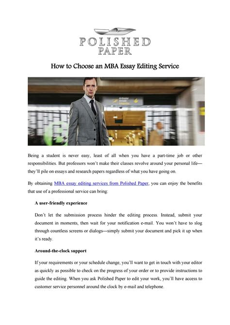 Essay Editing Services Mba by How To Choose An Mba Essay Editing Service By Polished