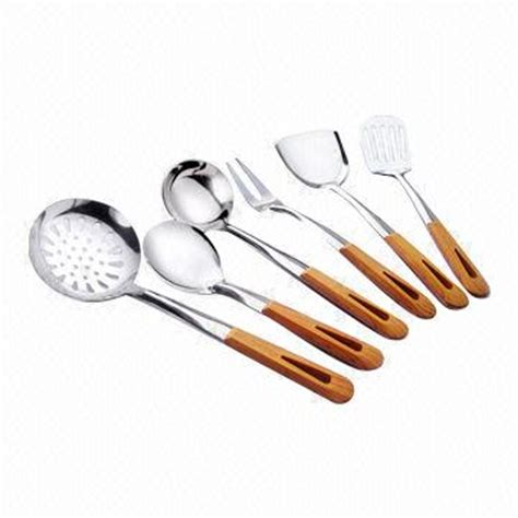 Materials Of Kitchen Utensils And Equipment by Kitchen Utensils With Wooden Handle Stainless Steel 201