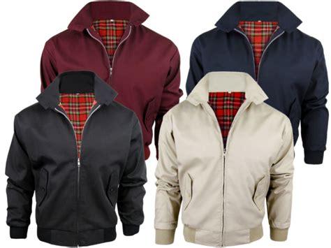 Best Seller Jaket Harrington Jaket Taslan Parka Jaket Bomber Wanita mens relco classic harrington jacket coat mod tartan check lining ebay
