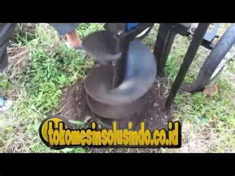 Mesin Bor Tanah Heavy Duty Bor 2 Meter bor tanah dengan roda mesin bor tanah doovi