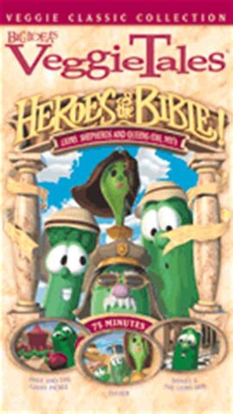 my big book of bible heroes devotional books veggietales heroes of the bible vol 1 veggietales